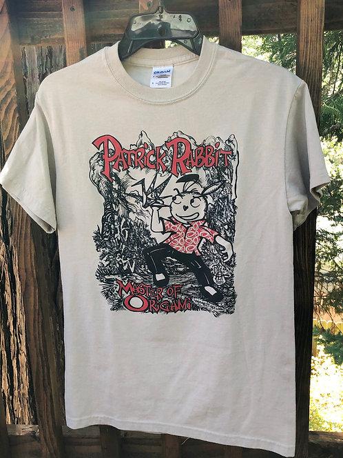 Patrick Rabbit, Master of Origami t-shirt