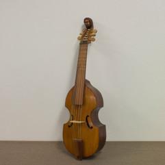 Treble Viola da Gamba, based on 18th century original models.