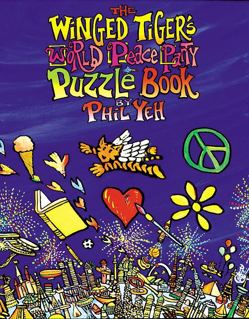 The Winged Tiger World Peace Party Puzzle Book