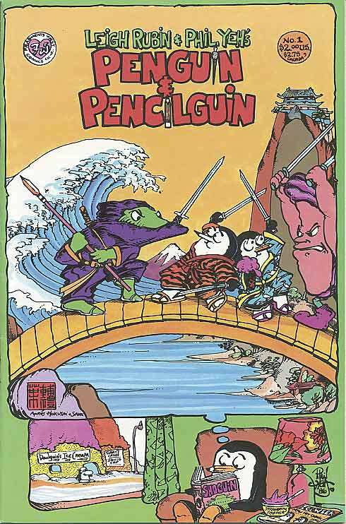 Penguin and Pencilguin #1 (1987)