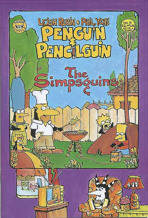 Penguin and Pencilguin #8 (1994)