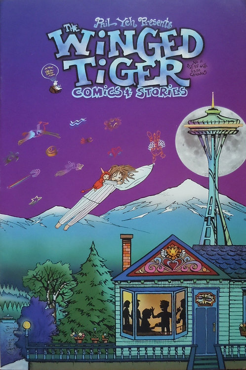Winged Tiger  # 11: The Wizard of Oz Has Left Emerald City