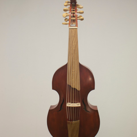 Viola d'amore, based on a model by Ignatius Hoffman, 1735