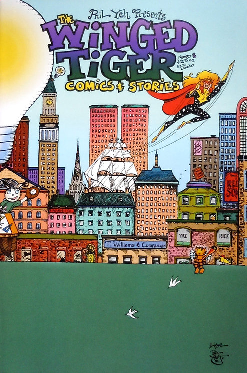 Winged Tiger  #8: Take Me Out To The Ballgame
