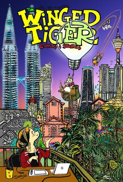Winged Tiger  #15: To Bee or Not to Bee