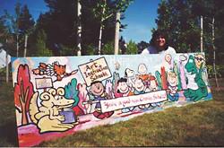 Schulz mural