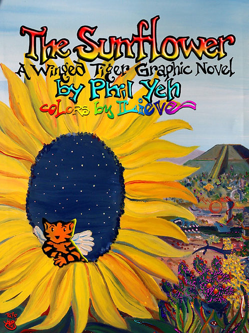 The Sunflower: A Winged Tiger Wordless Graphic Novel