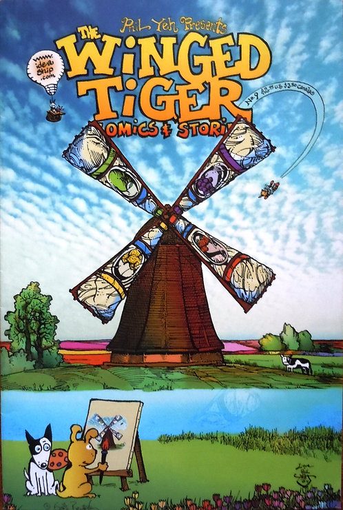 Winged Tiger #9: A Pirate's Life For Me!