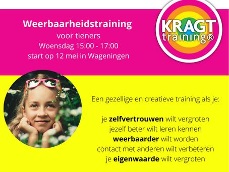 12 mei start een nieuwe KRAGT training!