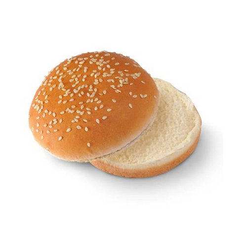 Pan de hamburguesa con sésamo 10cm (24 uds).