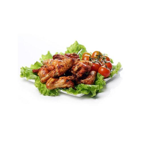 Alitas de pollo asadas BBQ (caja).