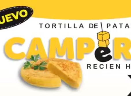 ¡Nueva tortilla de patata CAMPERA!