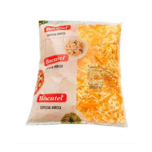 Mezcla tres quesos rallados (1kg).