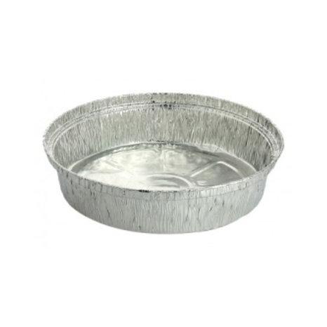 Envase de aluminio 1/2 pollo (125 uds) .