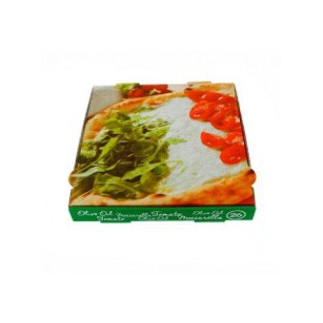 Caja de cartón pizza (100 uds).