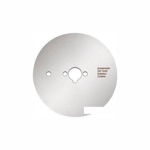 Disco liso de 80 cm.