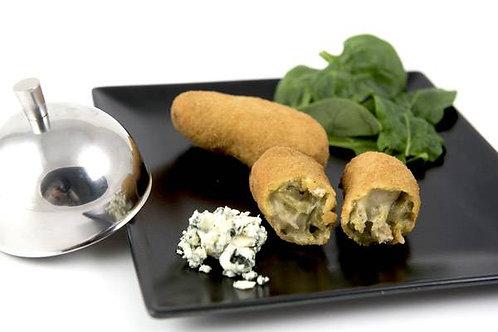 Croquetas de espinacas con queso roquefort