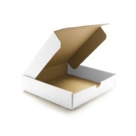 Caja de cartón tortilla 24x24 cm. 50 uds.