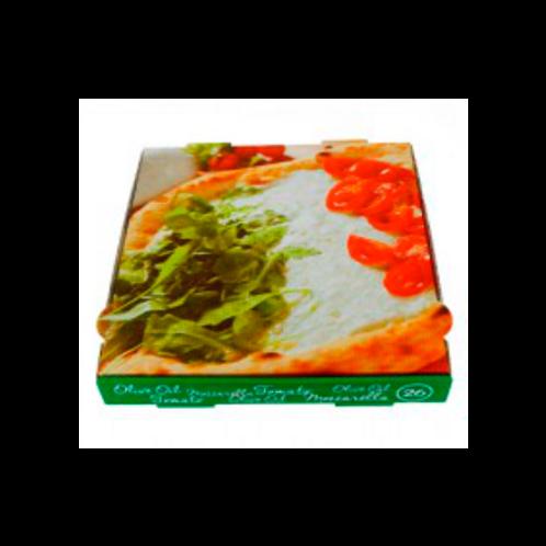 Caja de cartón pizza