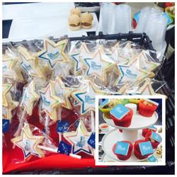 Star shape cookie pop