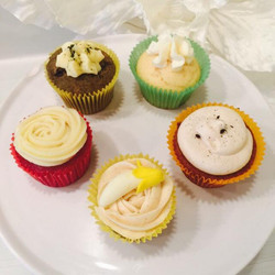 Various Flavour Cup Cakes