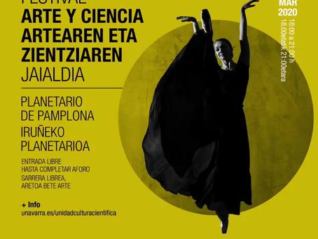 Nos vemos en el Festival Arte y Ciencia en el Planetario de Pamplona