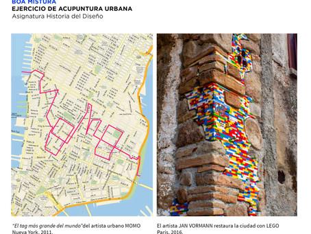 Un ejercicio de acupuntura urbana, por Boamistura, en Historia del Diseño