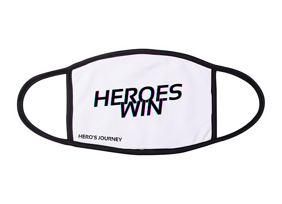 HEROES WIN FACE MASK