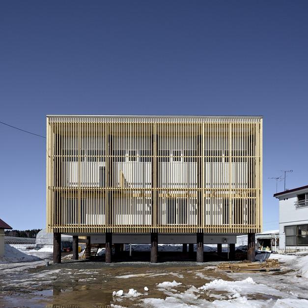 掘立柱の家