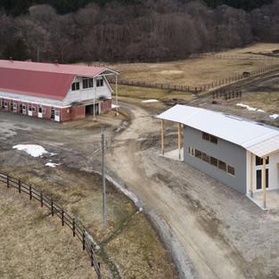 パドックの家/牧場に建つ家 No.2