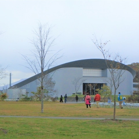 国立民族共生公園体験交流ホール ウポポイ  ウエカリチセ 交流体験ホール