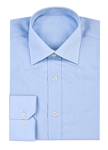 Light blue button-up shirt