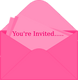 Pixi Girl Invitation