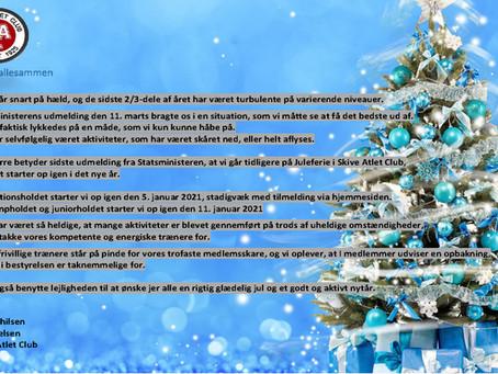 I ønskes alle en glædelig jul og et godt nytår. Vi ses i det nye år.