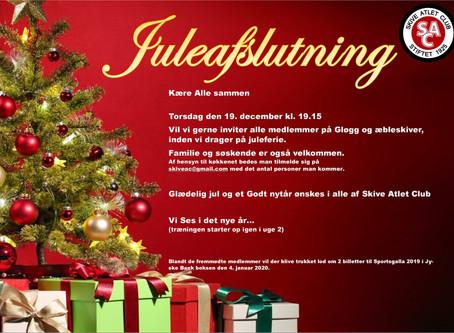 Juleafslutning