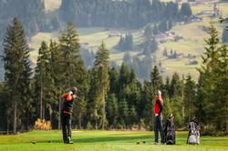 Golf spielen in Westendorf im Brixental.