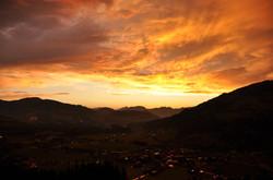 Sonnenuntergang vom Zieplhof