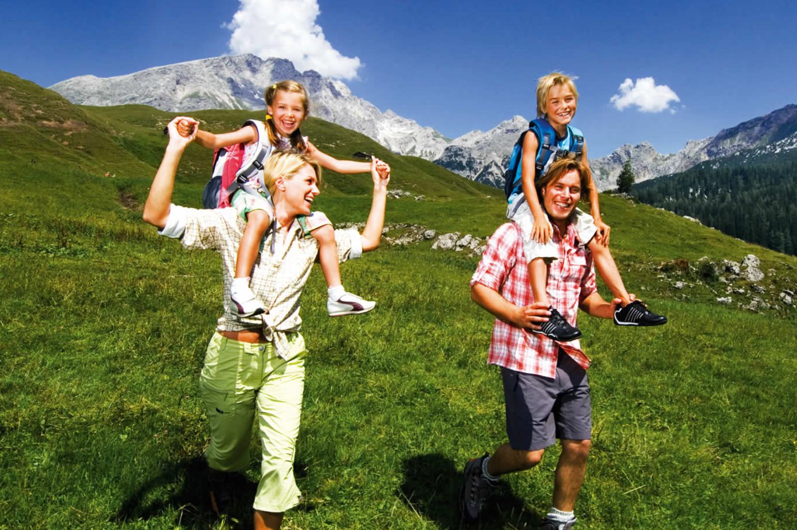 Familien Wanderurlaub in Westendorf