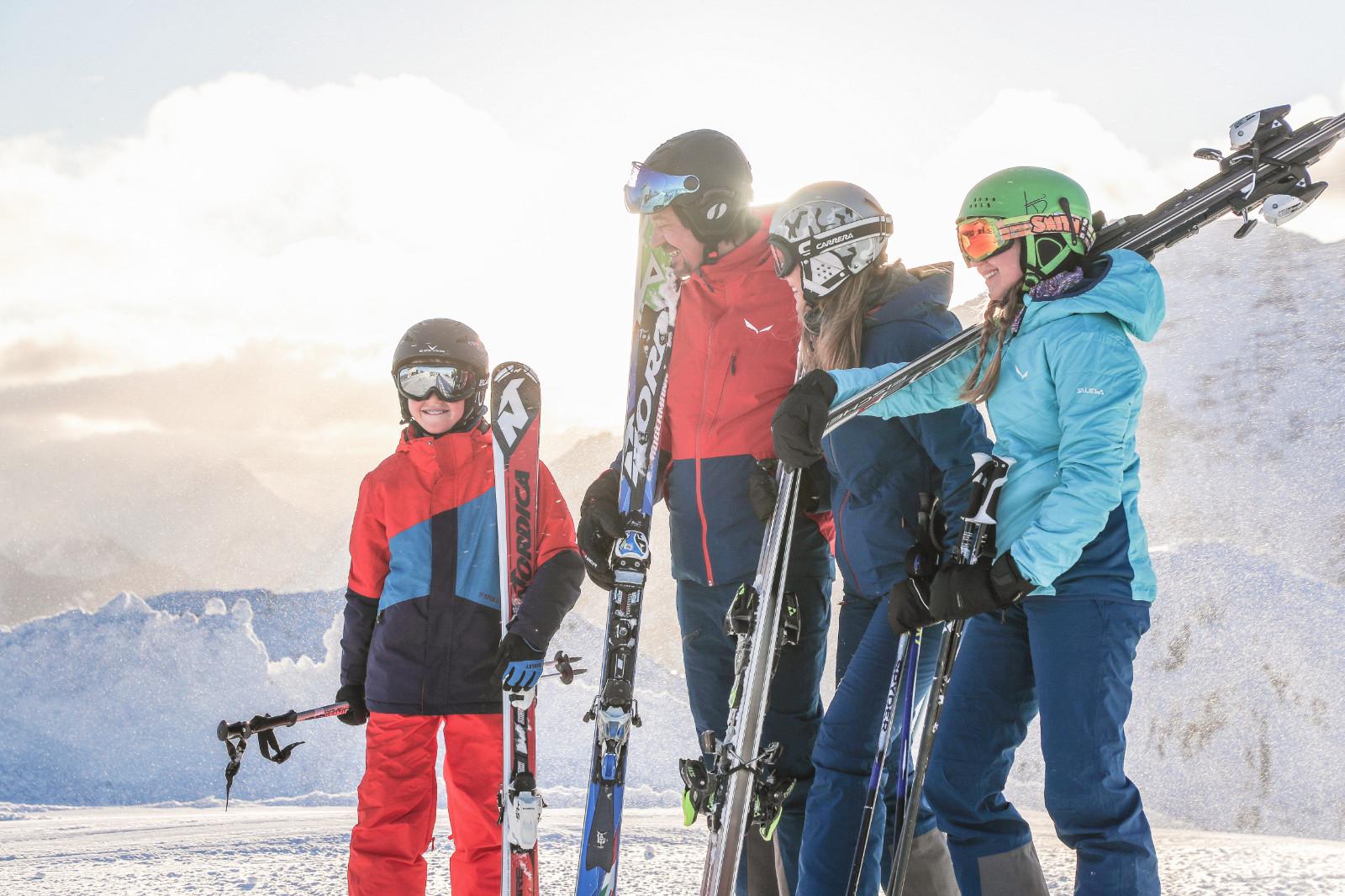 Familien Skifahren in Westendorf SkiWelt