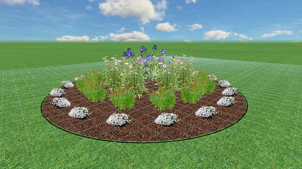 Full Sun Native Garden Plan