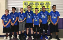 5/6 2nd Place-Farwell Steers Coaches