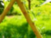 Vrbový plot - plot z vrbových prutů