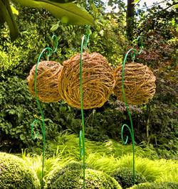 Zahradní lucerny z vrby
