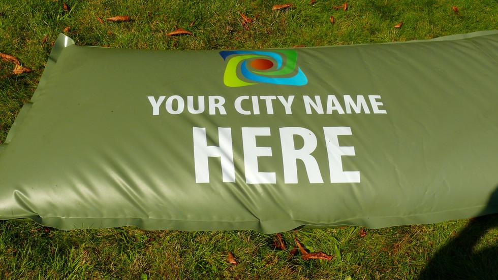 Print your logo on the irrigation bag!