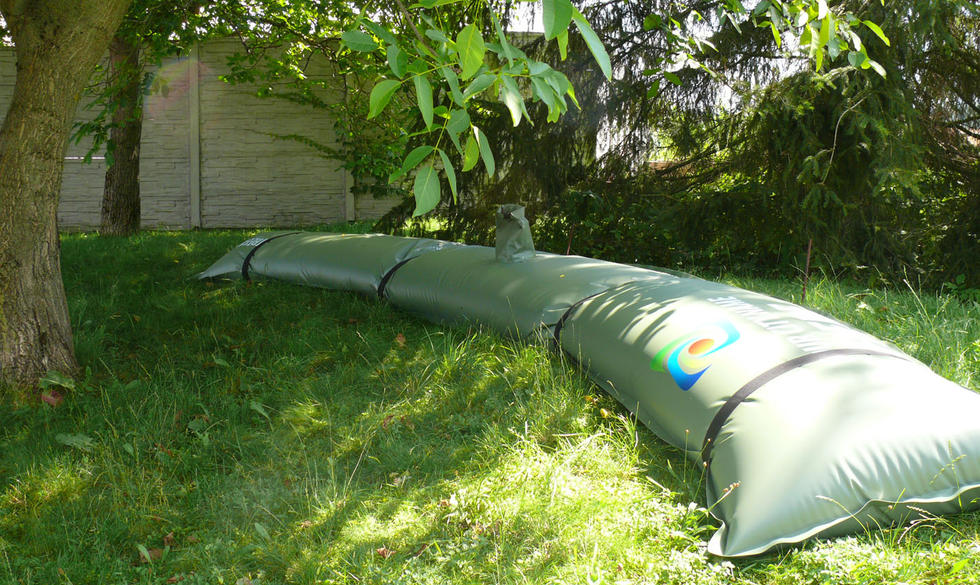 TREEIB®, large tree irrigation on slopes.