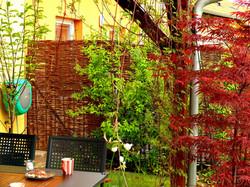 Zastínění zahradní terasy