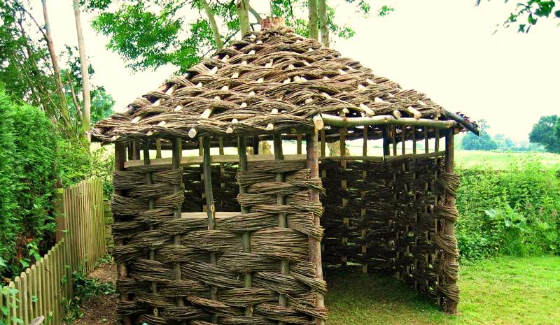 Vrbový domek