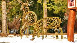 Živé sochy z vrby