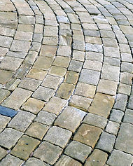 Stone paving surface is OK for TREEIB
