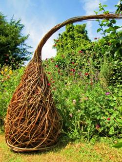 Zahradní dekorace z vrby